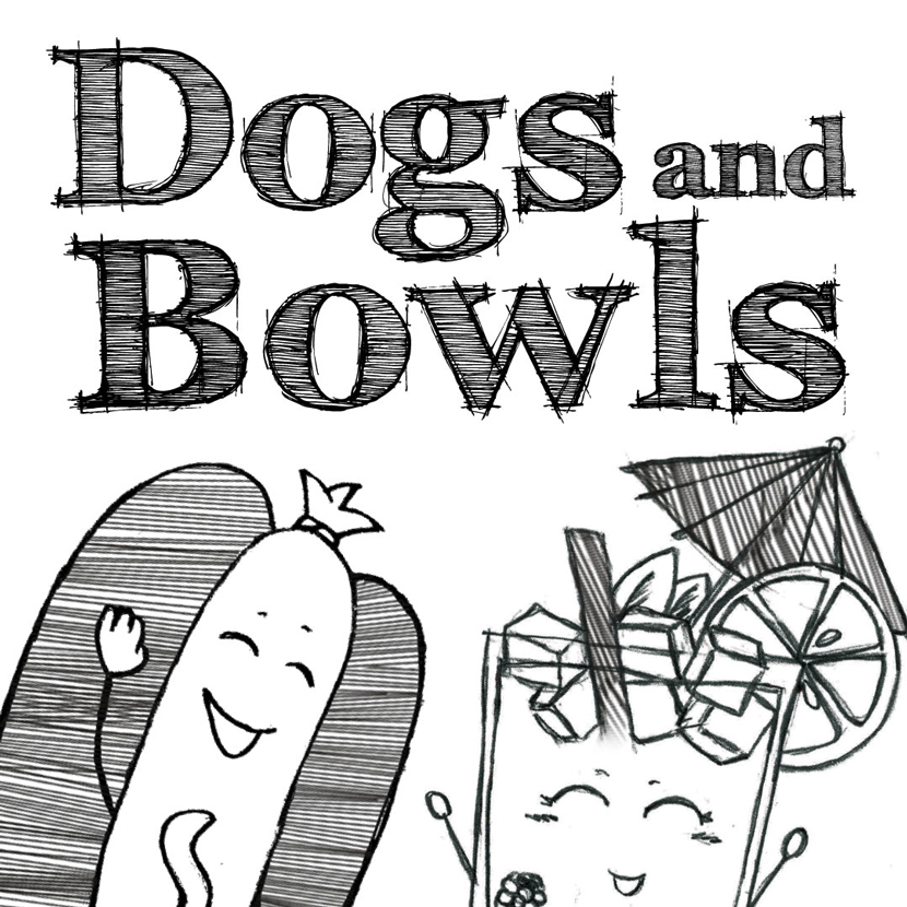 Dogs'n'Bowls Charaktere Hot Dog und Bowle